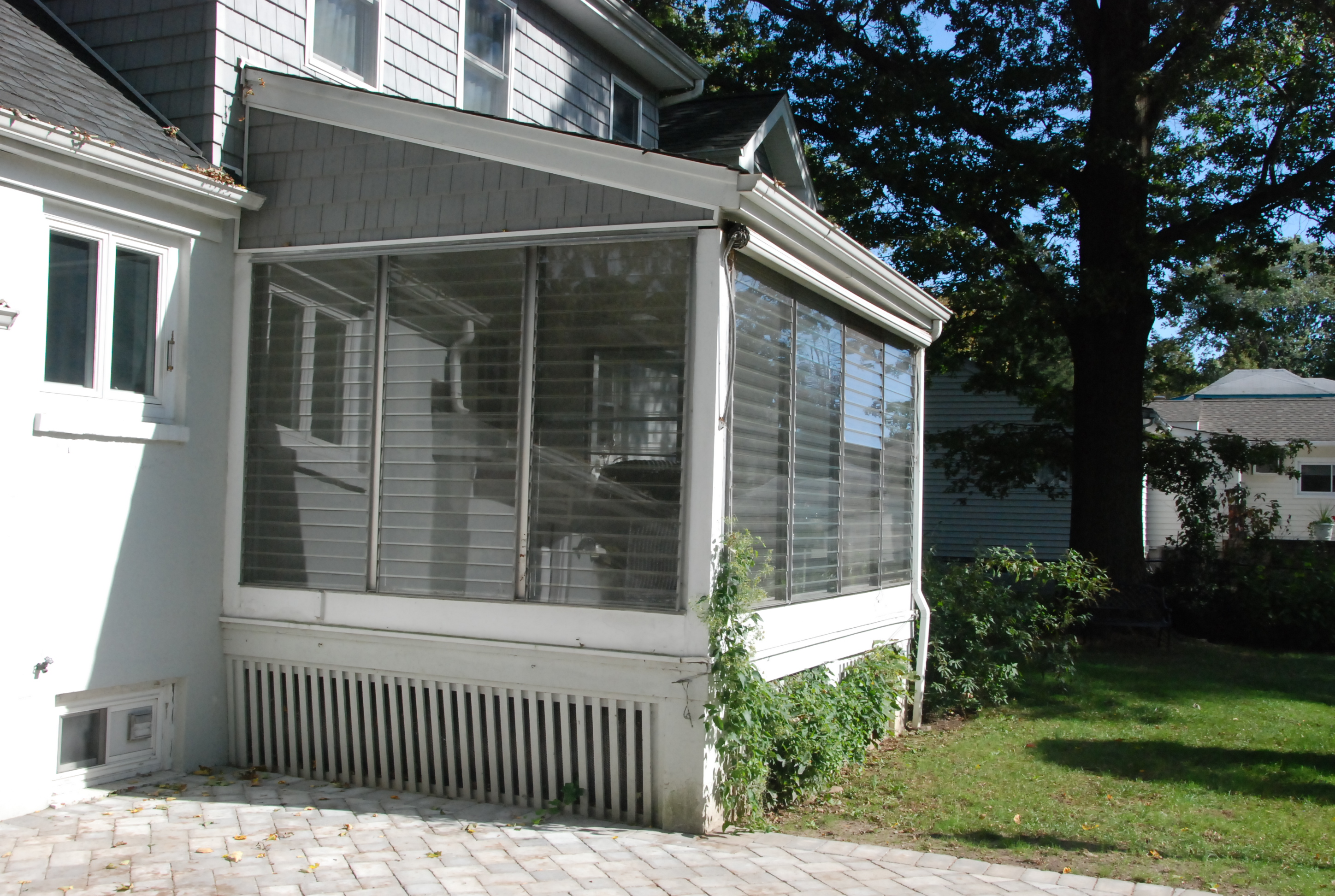 4 season vinyl patio enclosures for Breezeway screen room