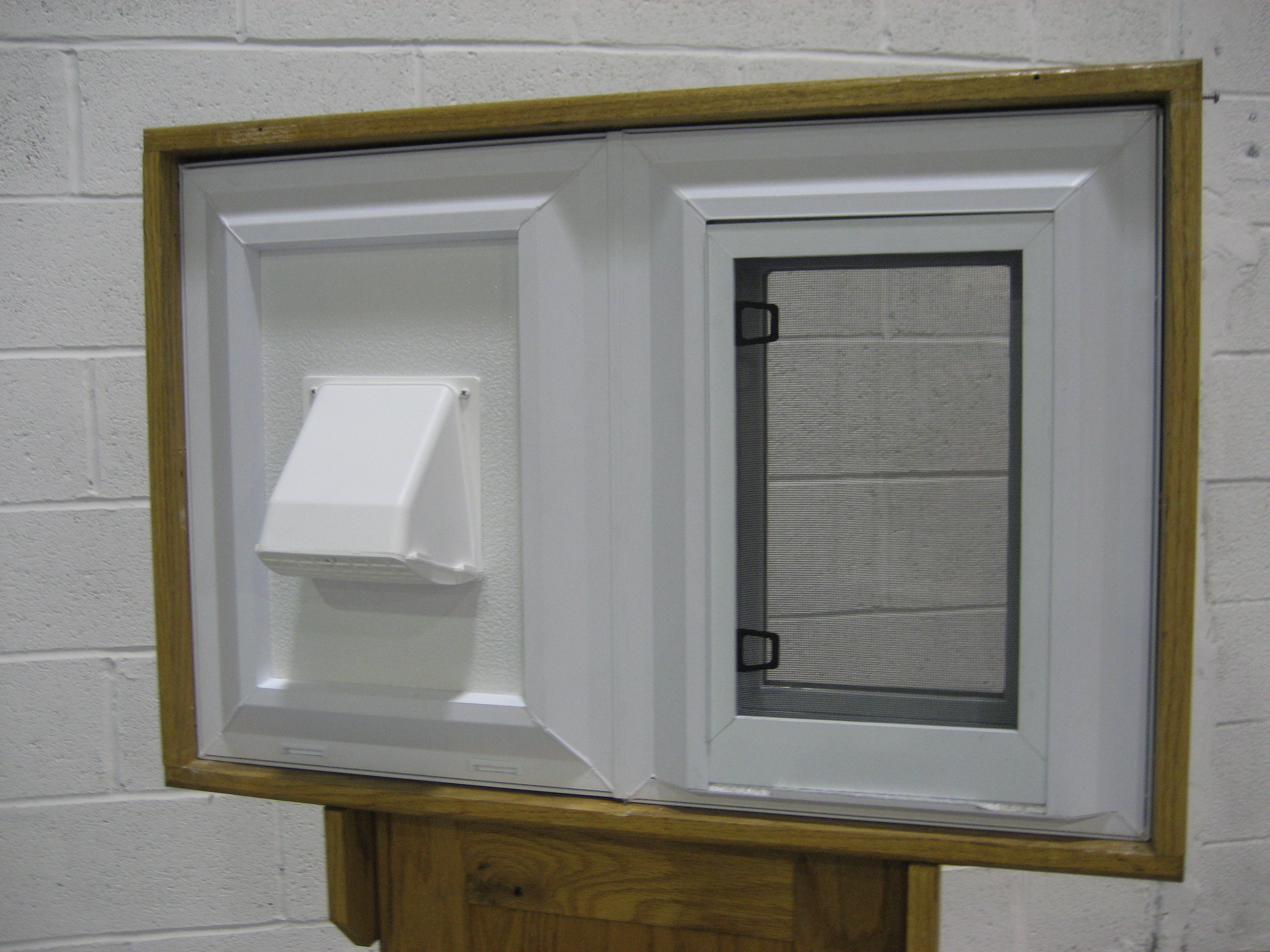 Replacement windows replacement window with dryer vent for Basement window replacement